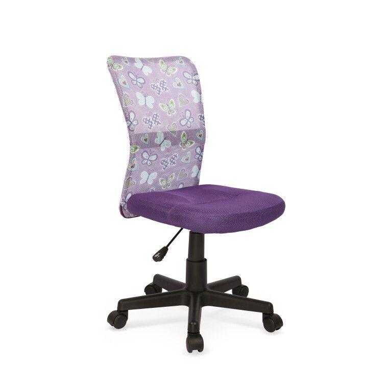 Кресло поворотное Halmar Dingo | Фиолетовый
