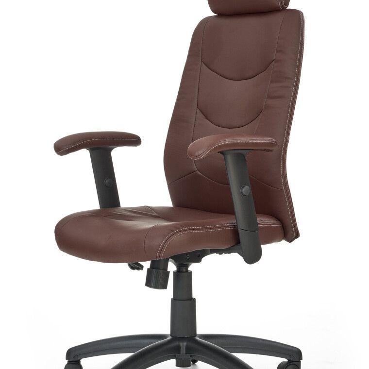Кресло поворотное Halmar Stilo | Коричневый - 6