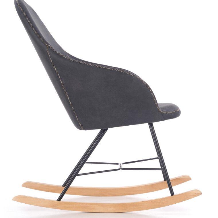 Кресло-качалка Halmar Lagos | Серый - 4