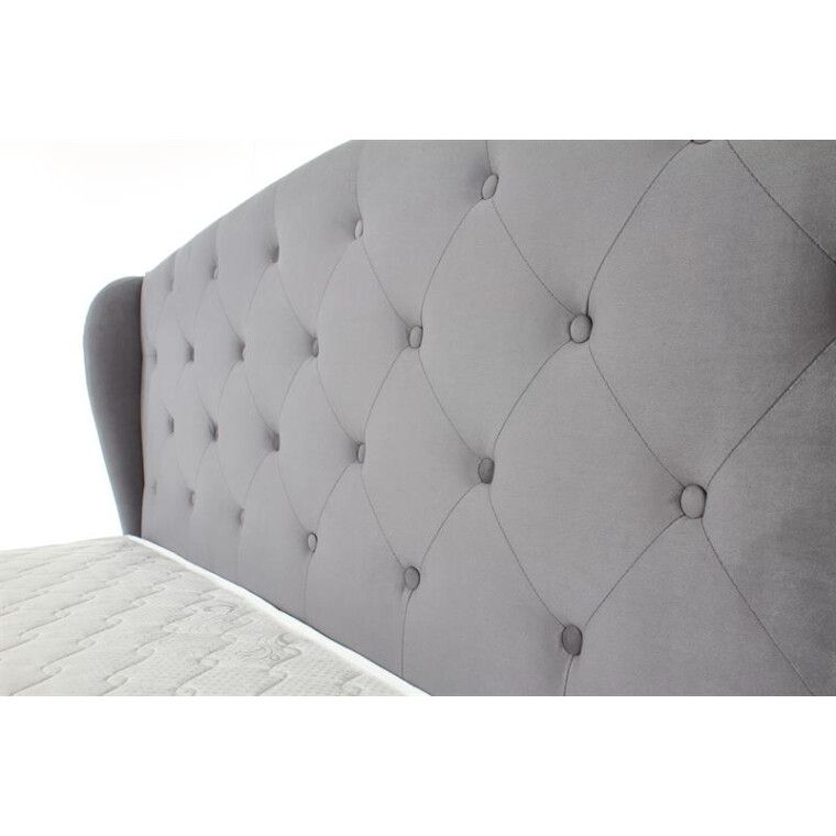 Кровать Halmar Sabrina | 160х200 / Серый - 20