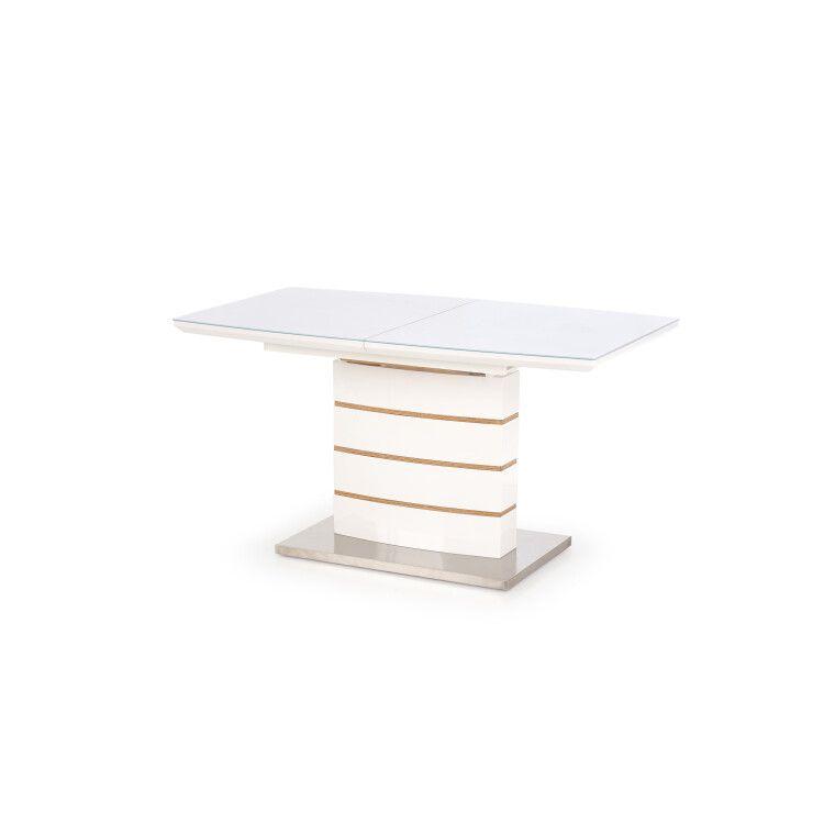 Стол раскладной Halmar Toronto | Белый / дуб золотой