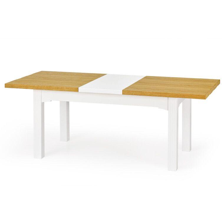 Стол раздвижной Halmar Leonardo | Дуб медовый / белый - 6