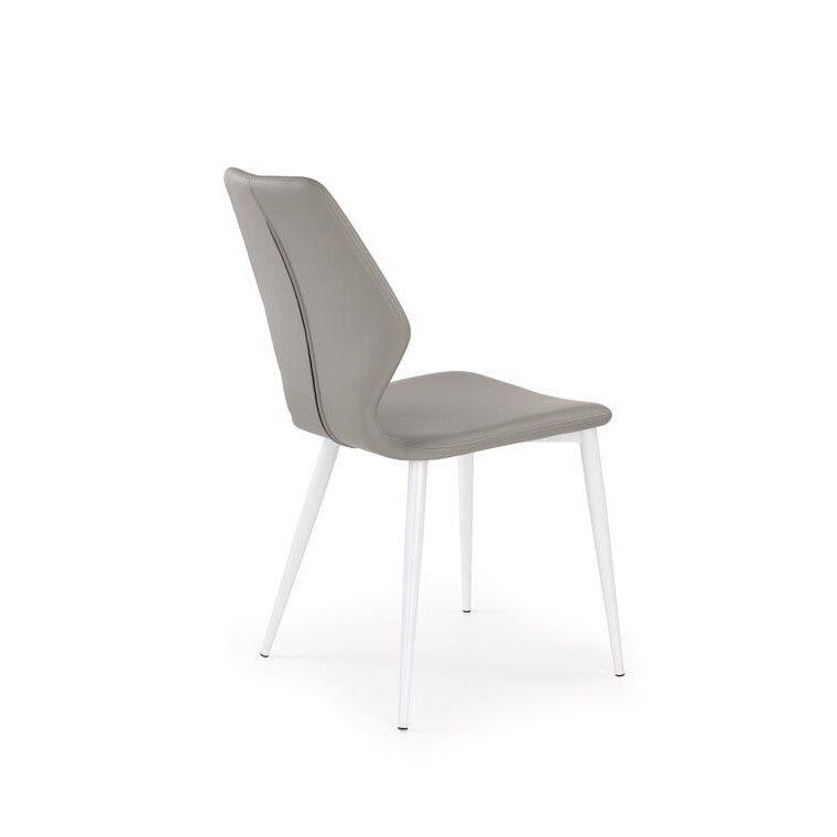 Стул Halmar K249 | Серый / белый - 2