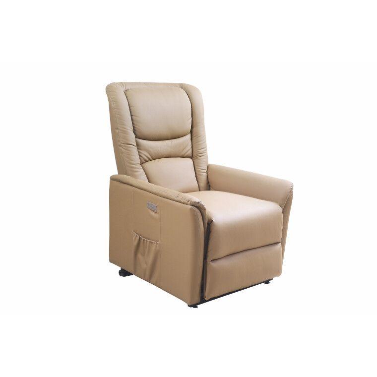 Кресло с подогревом и массажем Halmar Senator | Бежевый