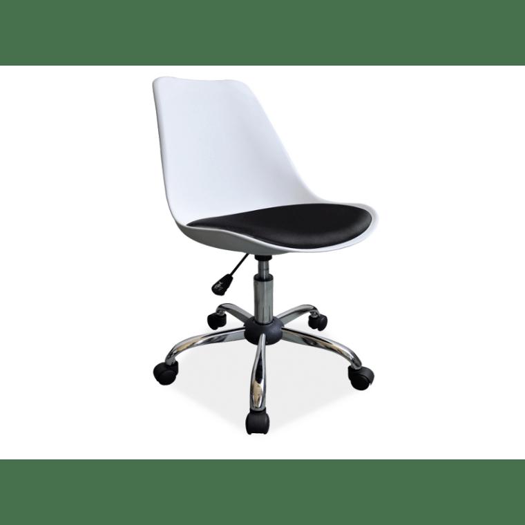 Кресло поворотное Signal Q-777 | Белый / черный
