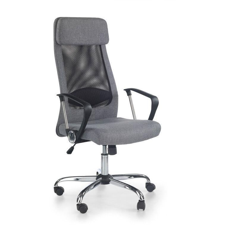 Кресло поворотное Halmar Zoom | Серый