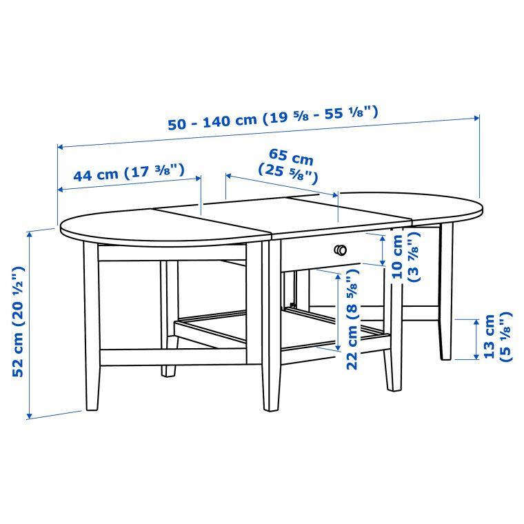 Журнальный столик ARKELSTORP - 10