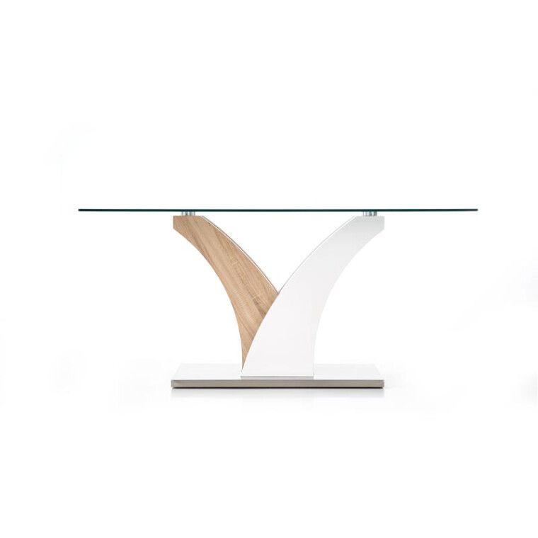 Стол обеденный Halmar Vilmer | Дуб сонома / белый - 4
