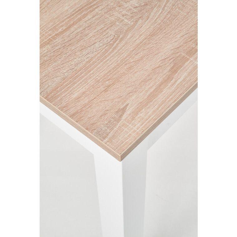 Стол обеденный Halmar Ksawery | Дуб Сонома / Белый - 3