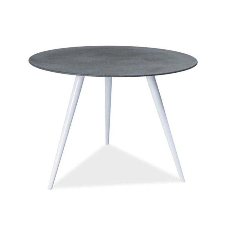 Стол обеденный Signal Evita | Серый / белый