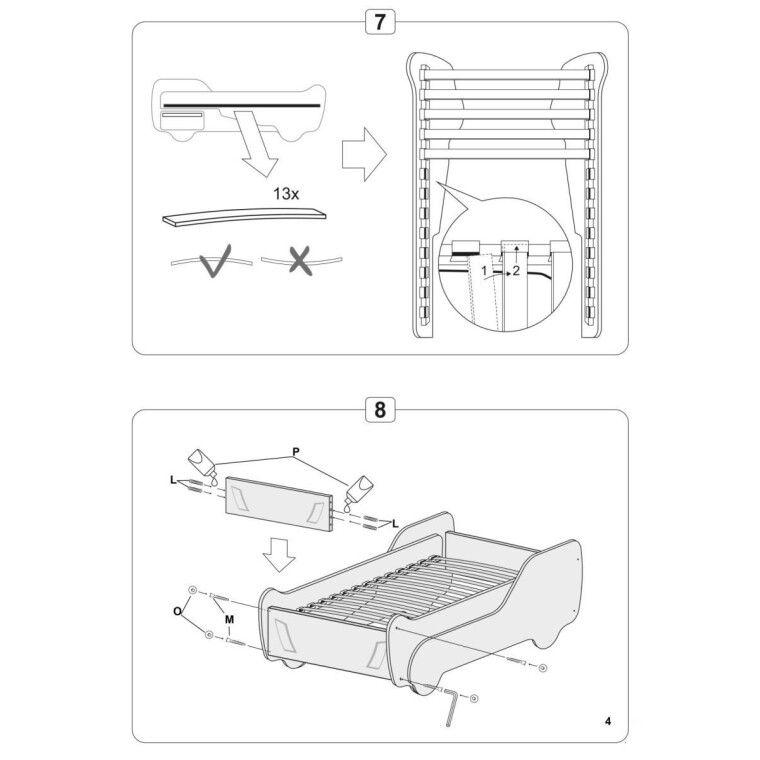 Кровать детская Halmar Digger | Грузовик - 6