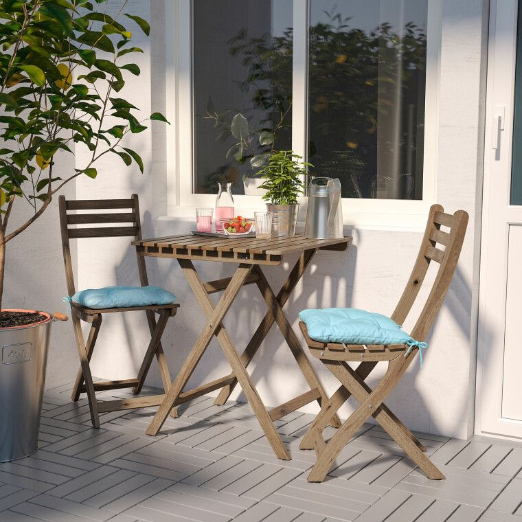 Комплект мебели садовой ASKHOLMEN - 5