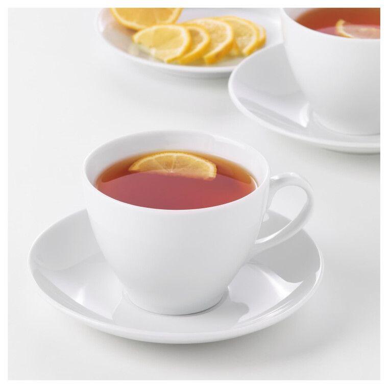 Чашка чайная с блюдцем VÄRDERA - 3