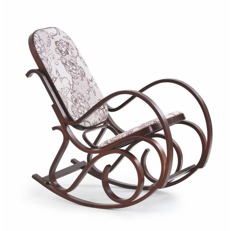 Кресло-качалка Halmar Max 2 | Орех