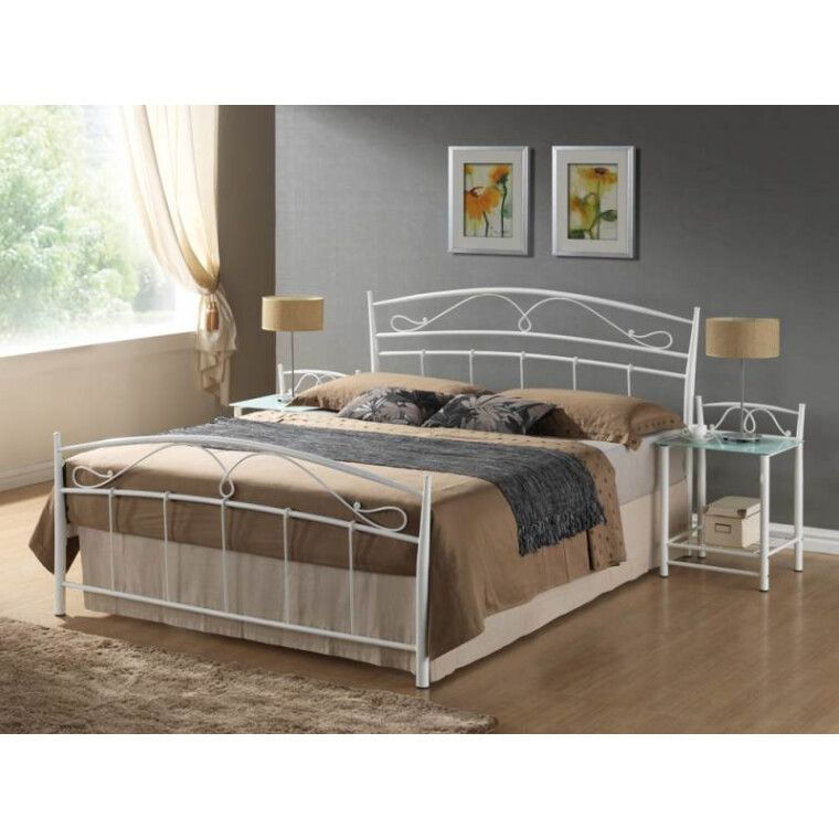 Кровать Signal Siena | 160х200 / Белый