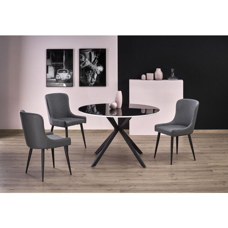 Стол обеденный Halmar Avelar   Белый / Черный