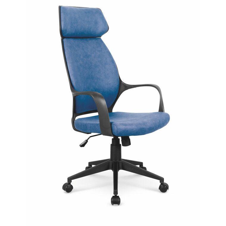 Кресло поворотное Halmar Photon   Синий фото