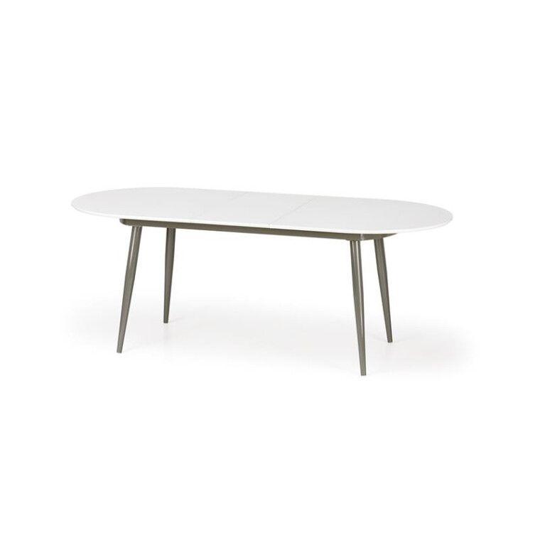 Стол раскладной Halmar Crispin   Белый / серый - 6