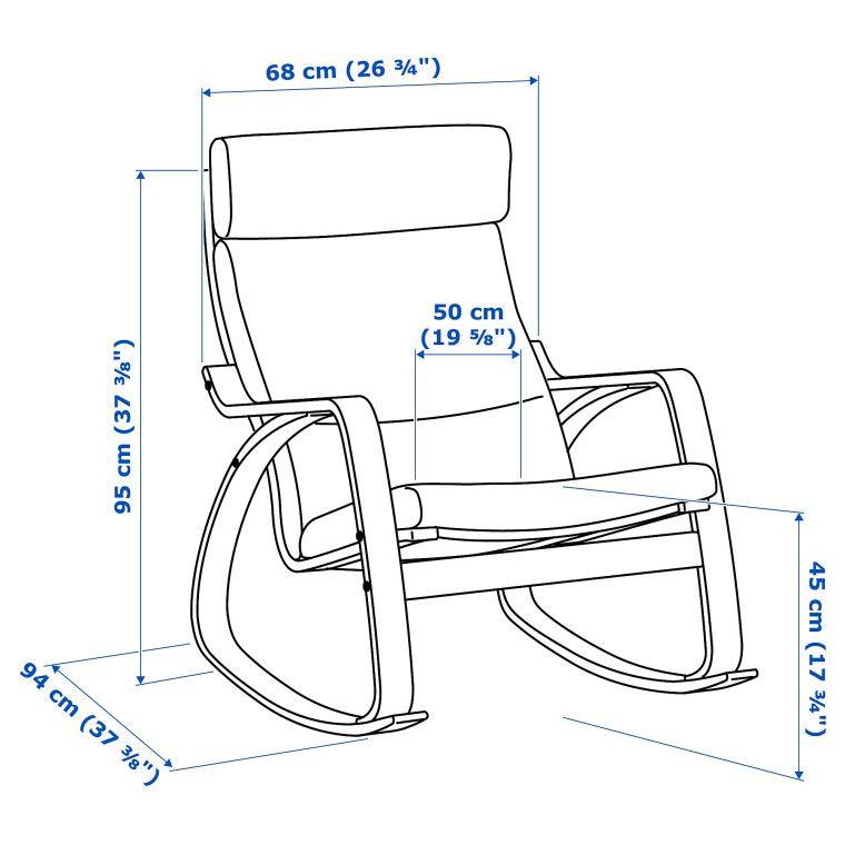 Кресло POÄNG - 8