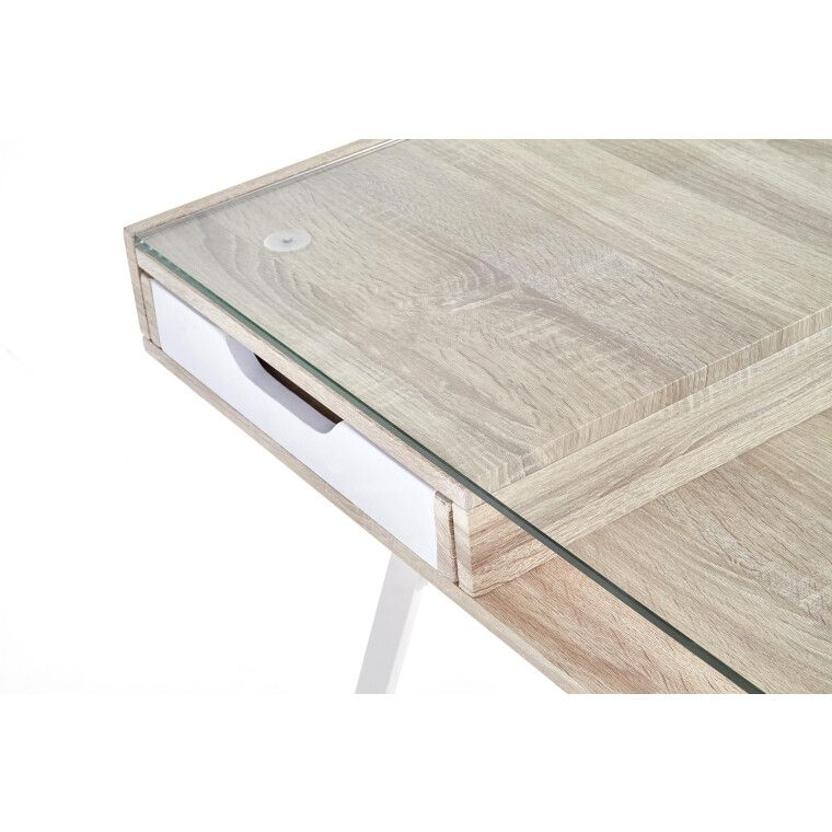 Стол письменный Halmar B-33 | Дуб Сонома / Белый - 6