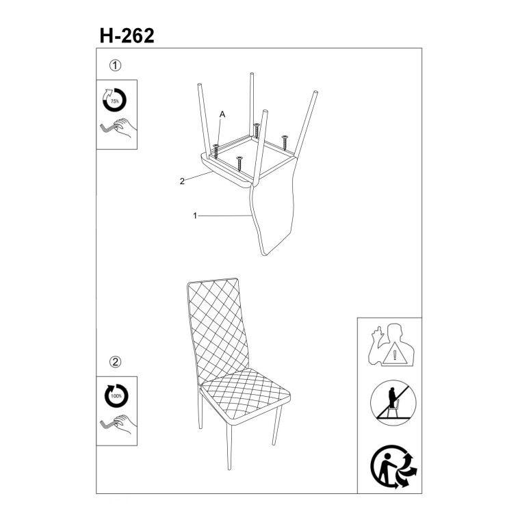 Cтул Signal H-262 | Серый - 3