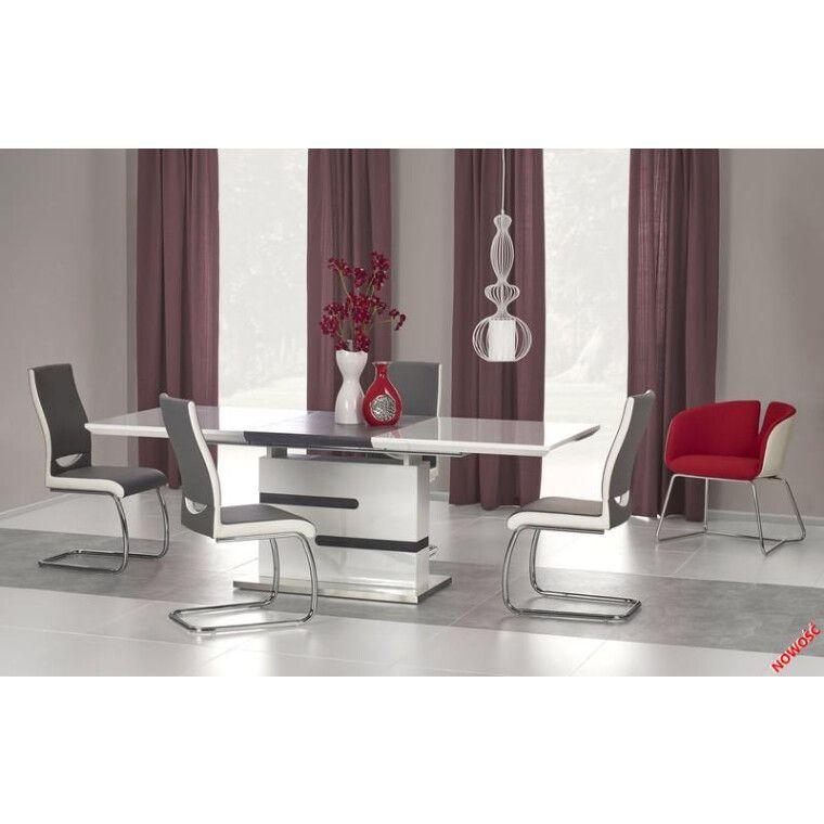 Стол раскладной Halmar Monaco | Белый / Серый