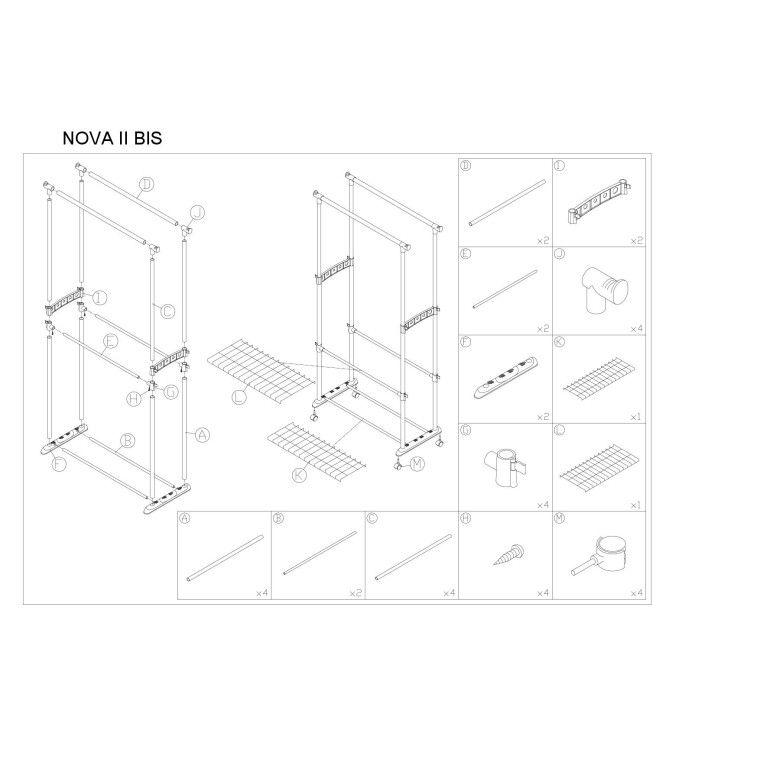 Вешалка Signal Nova II Bis | Черный - 2