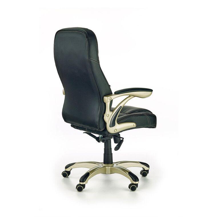 Кресло поворотное Halmar Carlos   Черный - 2