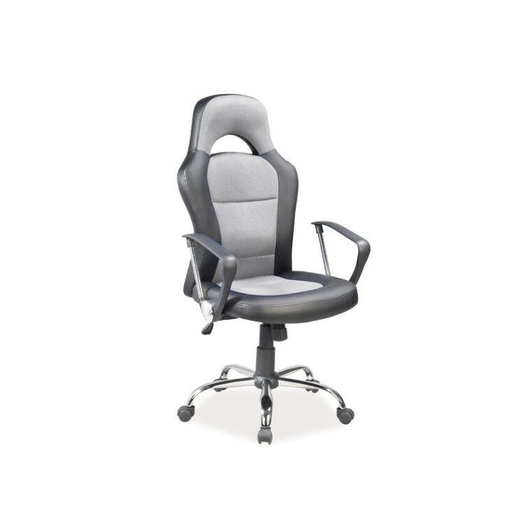 Кресло поворотное Signal Q-033 | Серый / черный