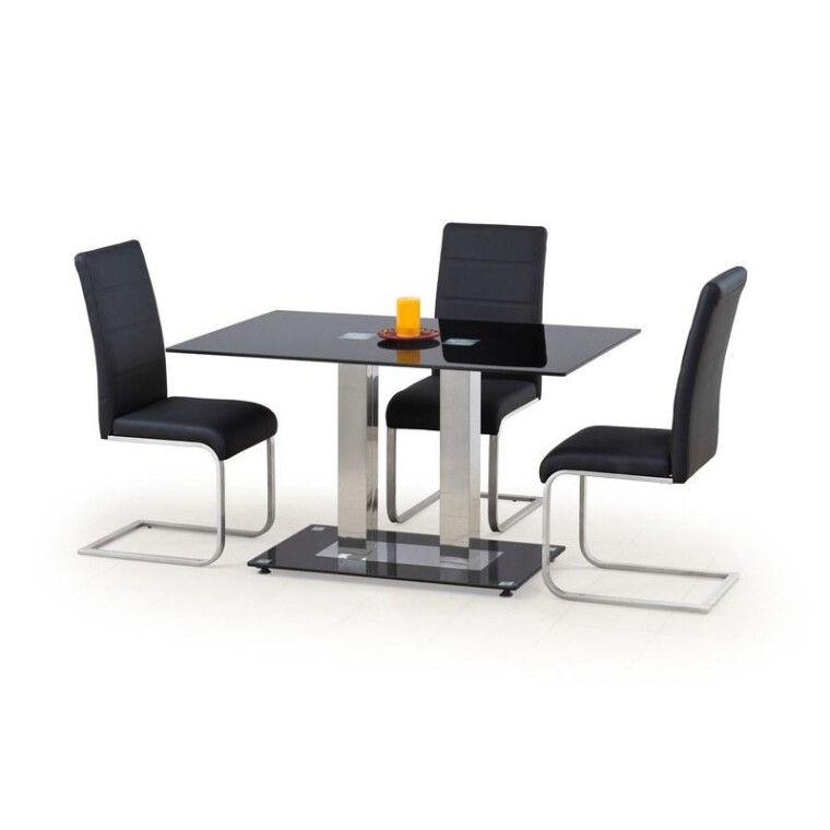 Стол обеденный Halmar Walter 2   Черный