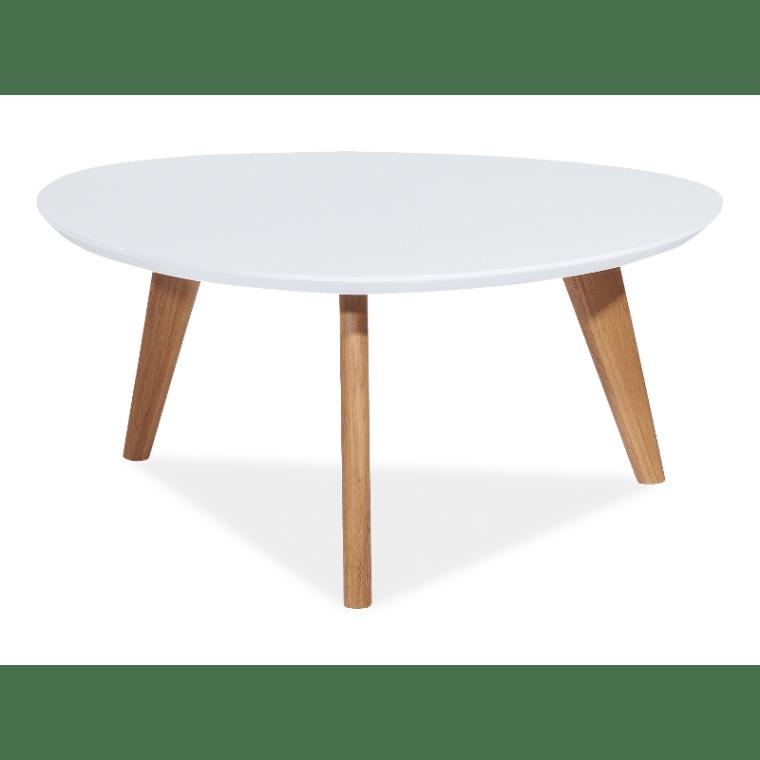 Столик Signal Milan L3 | Белый / дуб