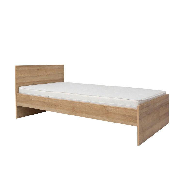 Кровать BRW Balder | 90x200 / Дуб ривьера - 2
