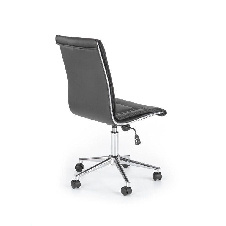 Кресло поворотное Halmar Porto   Черный - 2