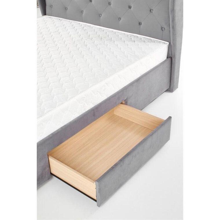 Кровать Halmar Sabrina   160х200 / Серый - 22