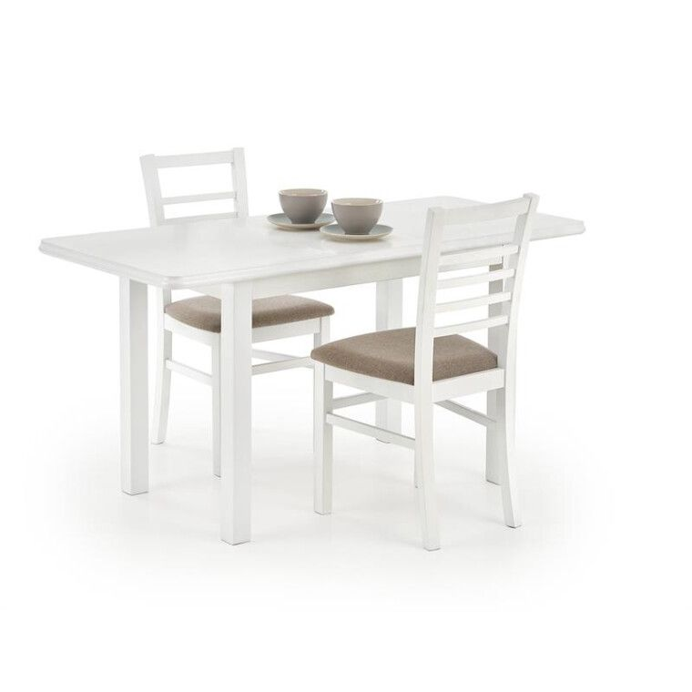 Стол раздвижной Halmar Dinner   Белый