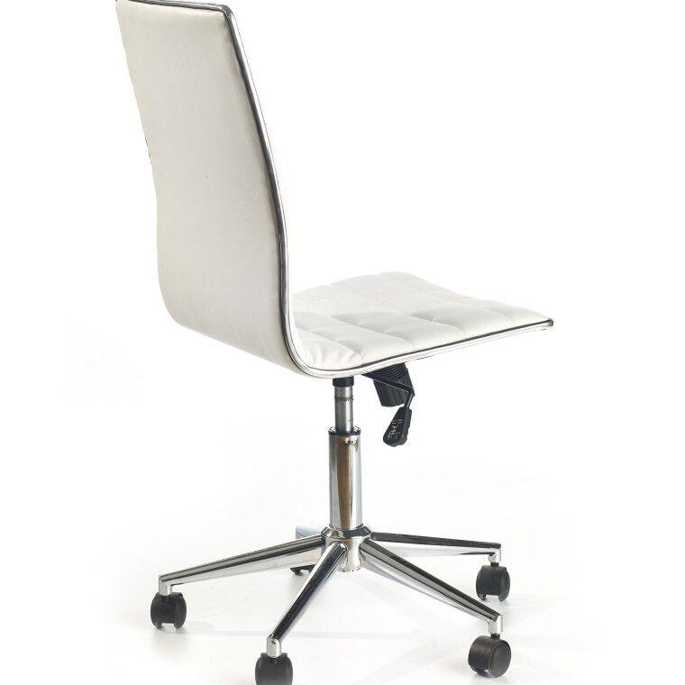 Кресло поворотное Halmar Tirol | Белый - 3