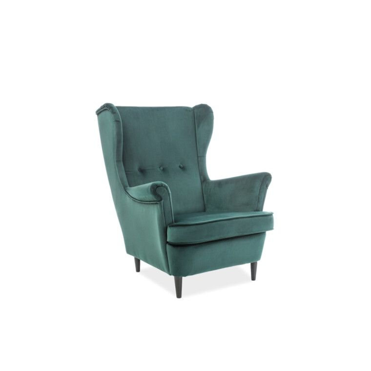 Кресло Signal Lord Velvet  | Зеленый (Bluvel 78)