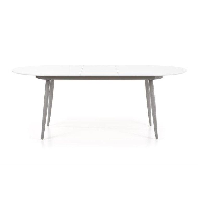 Стол раскладной Halmar Crispin | Белый / серый - 4