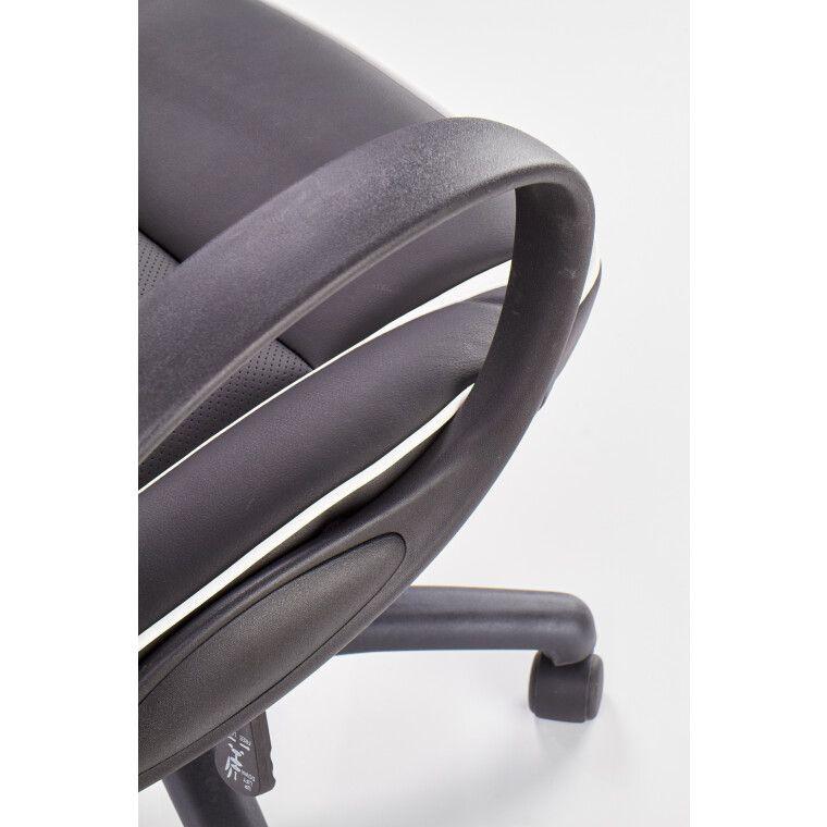 Кресло поворотное Halmar Dodger | Черный / белый - 11