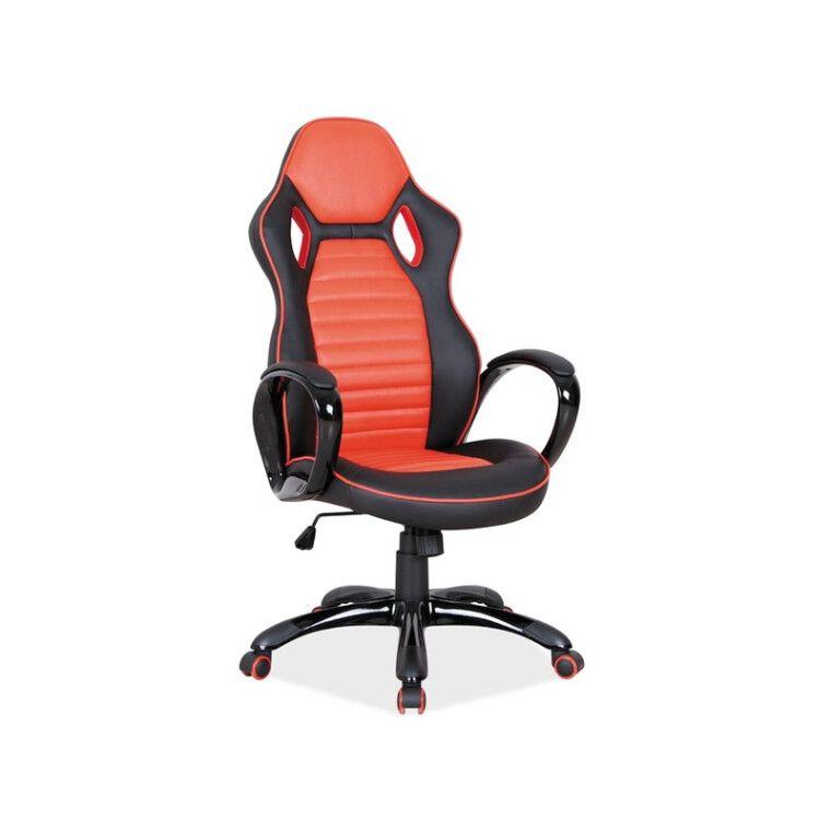 Вращающееся кресло Signal Q-105 | Черный / красный фото