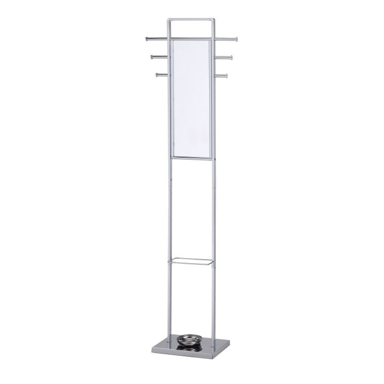 Вешалка с зеркалом Halmar W37 | Хром