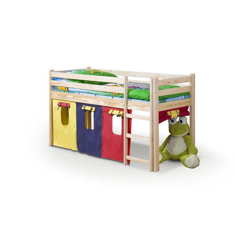 Кровать двухъярусная с матрасом Halmar Neo | Сосна