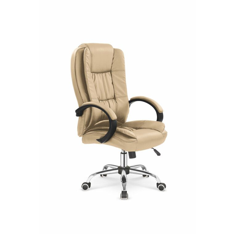 Кресло поворотное Halmar Relax | Бежевый