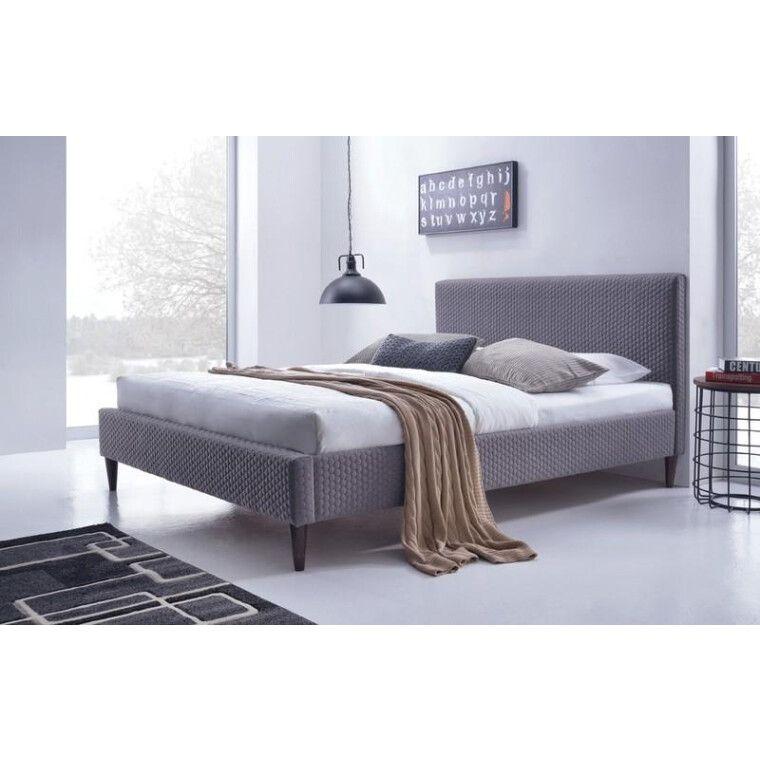 Кровать Halmar Flexy | 160х200 / Серый