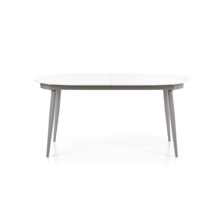 Стол раскладной Halmar Crispin   Белый / серый - 3
