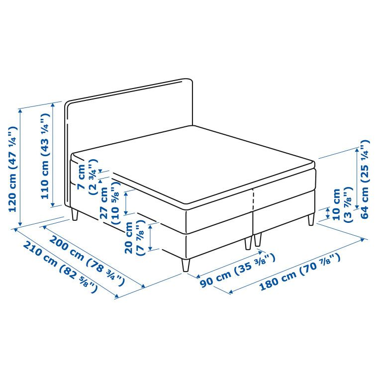 Кровать DUNVIK - 10