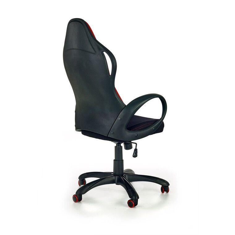 Кресло поворотное Halmar Helix 2   Черный / Красный - 2