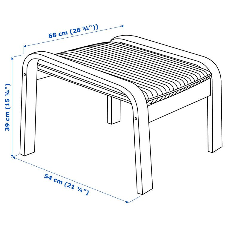 Подставка для ног POÄNG - 4