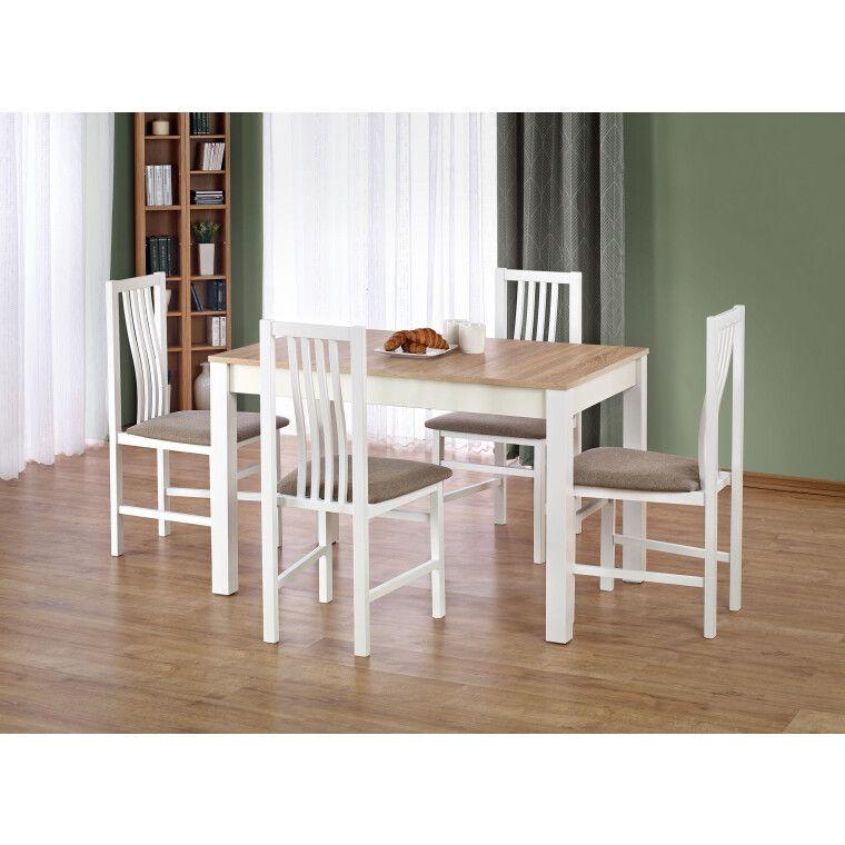 Стол обеденный Halmar Ksawery | Дуб Сонома / Белый - 4