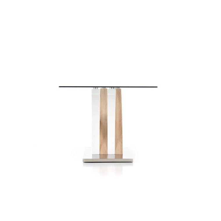 Стол обеденный Halmar Vilmer | Дуб сонома / белый - 6